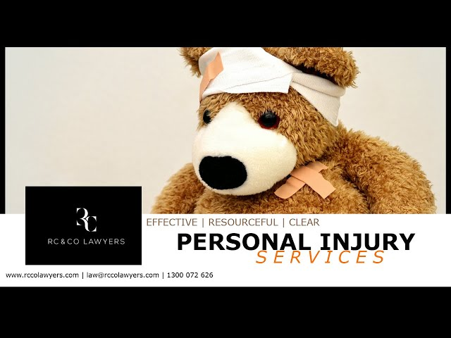 RC & Co Lawyers | Personal Injury Services