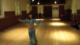 Solo Dancing in the Class by Junior Students