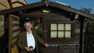 Hobby-Astronon Willy Oberender hat eine eigene Sternwarte in Gleusdorf/Lkr. Haßberge