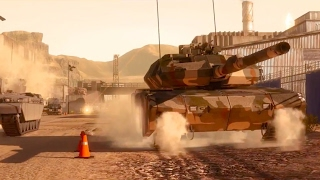 Armored Warfare Official Chemical Plant Trailer