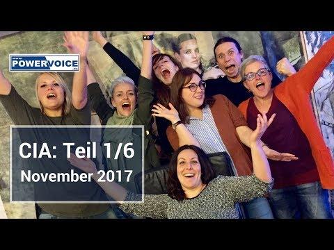 Teil 1/6 - Video-Tagebuch: Ausbildung zum Vocalcoach (CIA) 06. - 12. November 2017- Instagram Story