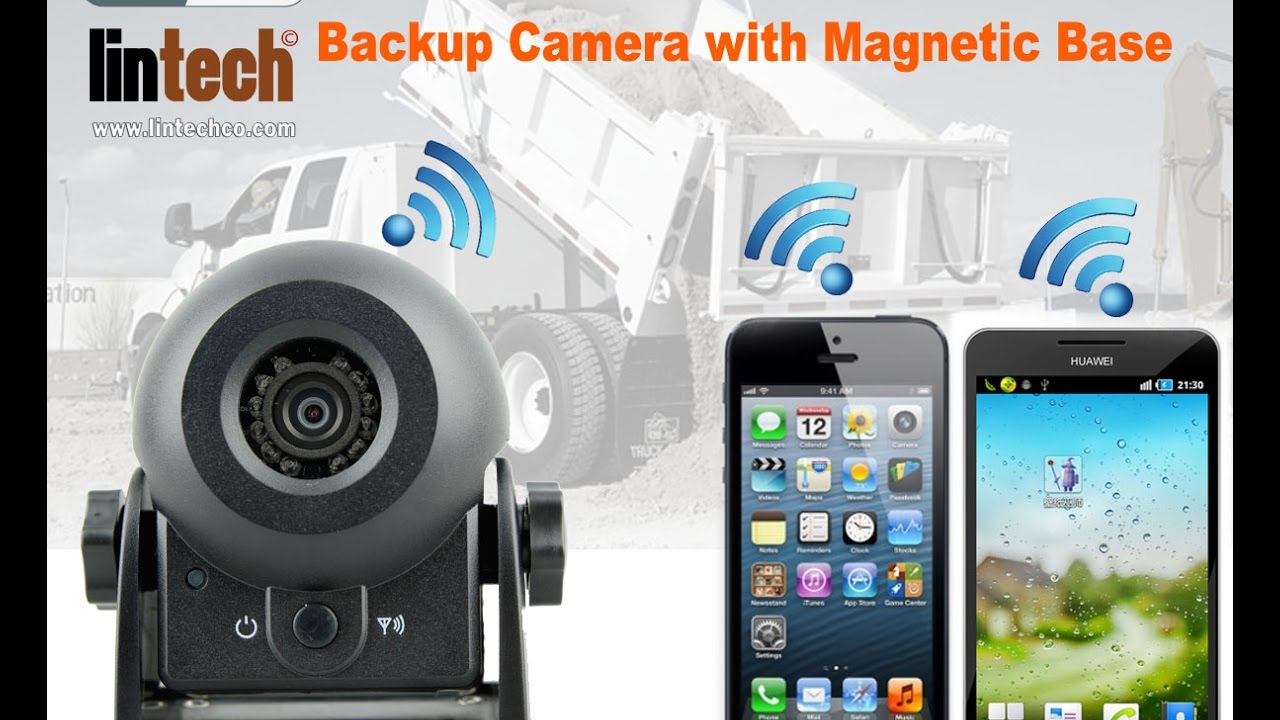 Car Backup Camera >> Portable WiFi Car Trucks Backup Camera with Magnetic Base and Battery - YouTube