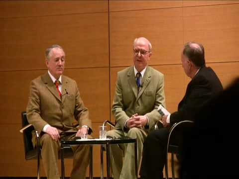 Gilbert and George with Arnold Lehman: Members Preview