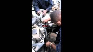 installation dun moteur  BMW e46