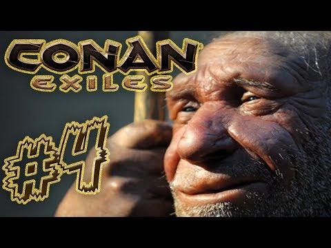 REIN in die erste Höhle! | Conan Exiles mit Maxim | 04