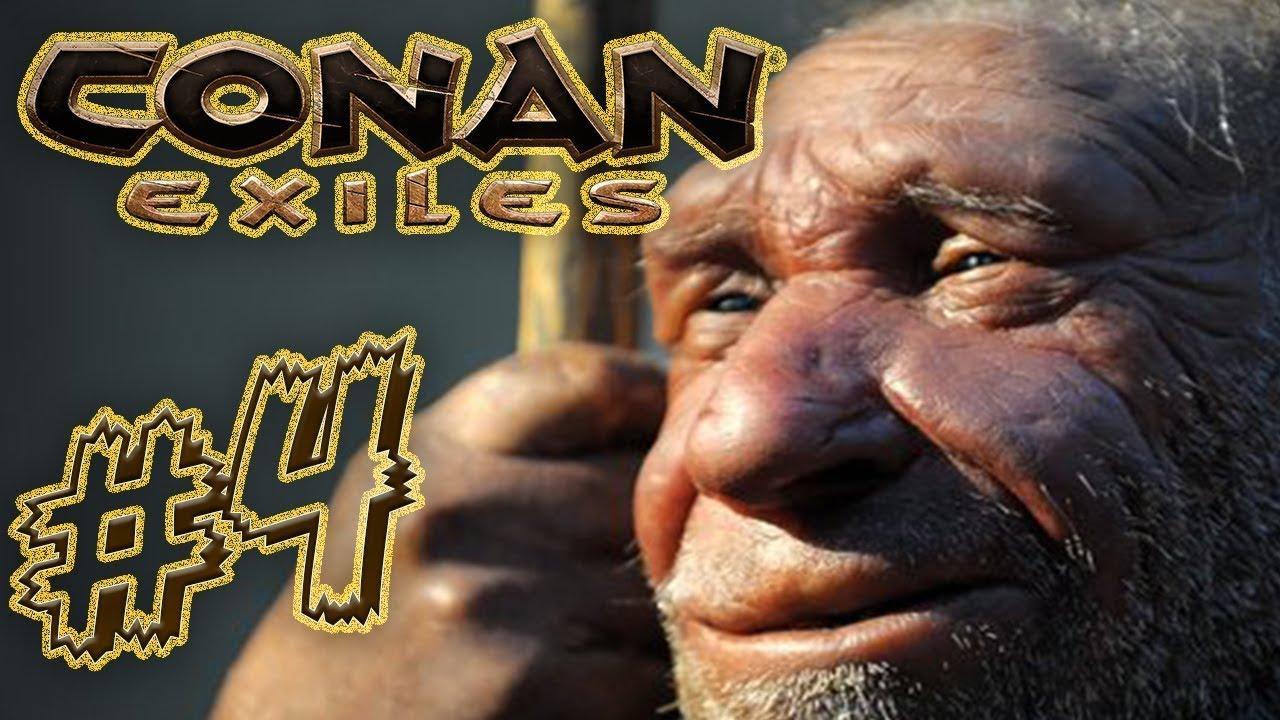 REIN in die erste Höhle! | Conan Exiles mit Maxim | 04 - YouTube