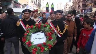 مصر العربية   كنيسة الوردين تدق الأجراس والأهالي يهتفون