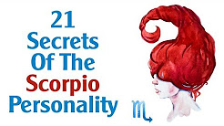Scorpio traits - personality - characteristics - YouTube