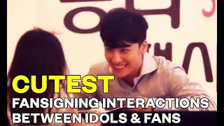 The Cutest Fansigning Interactions Between Idols & Fans