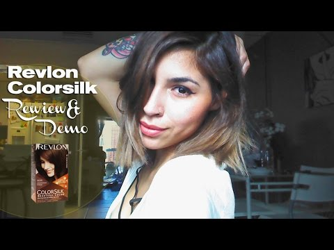 Revlon Colorsilk 47 Review Amp Demo Youtube