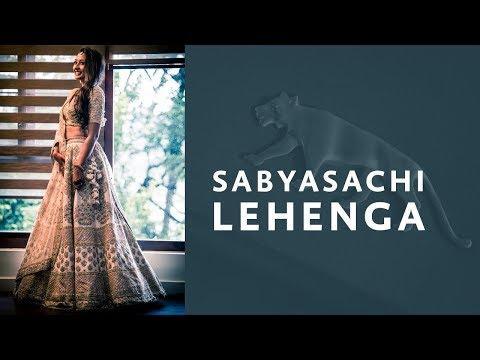 Sabyasachi lehenga Designed for Celebrity