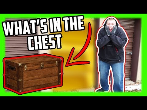 I Bought An Abandoned Storage Unit With A LOCKED CHEST Inside!