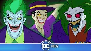 Escape The Joker Trap | Classic Batman Cartoons | DC Kids Video