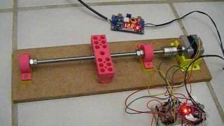Prototype d'un axe avec Arduino et impression 3D