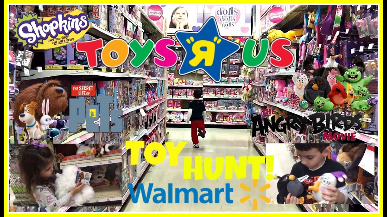 Walmart Toys R Us : Toy hunt at toysrus walmart shopkins season the