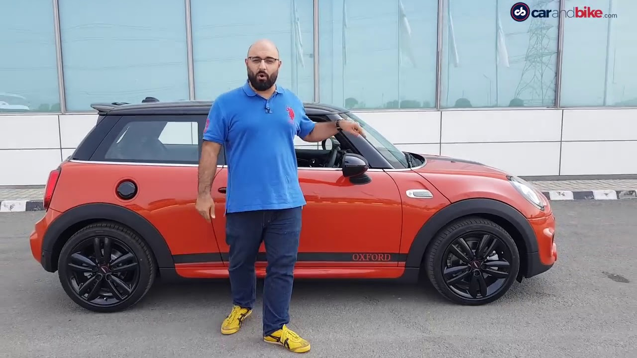2018 mini cooper oxford edition