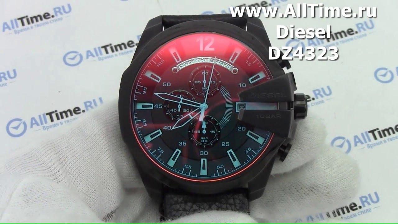 8d2640d9 Обзор. Мужские наручные часы Diesel DZ4323 с хронографом - YouTube