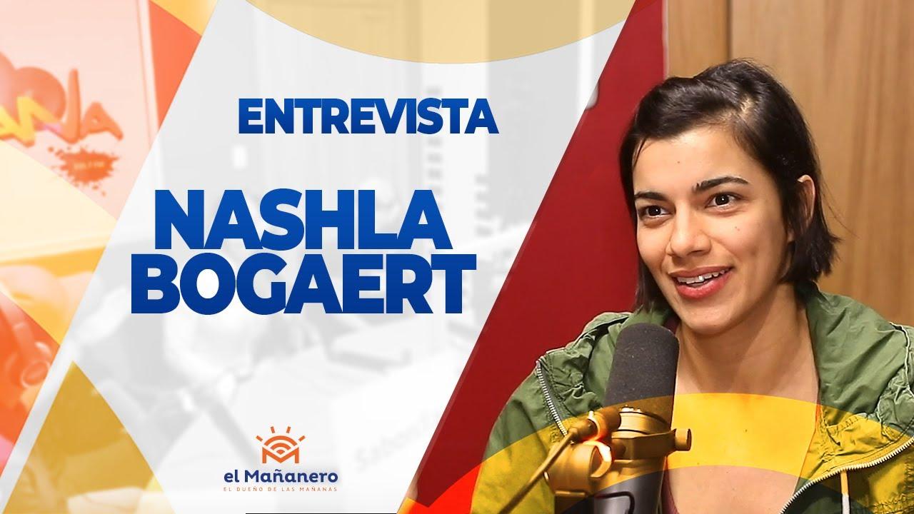 Entrevista a Nashla Bogaert y le responde a manolo 2019