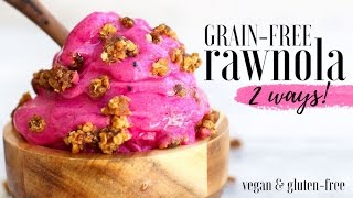 Grain-Free Rawnola {2 Ways!}