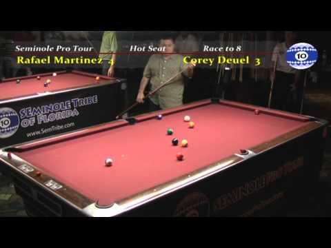 Corey Deuel vs Rafael Martinez at Hollywood Billiards
