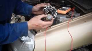 видео разобрать генератор ваз 2123 схема