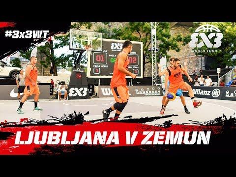 Ljubljana v Zemun - Full Game - Semi-Final - FIBA 3x3 World Tour Prague Masters 2017