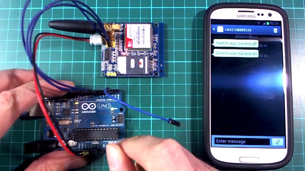 Arduino Project: Sending SMS using GSM Module
