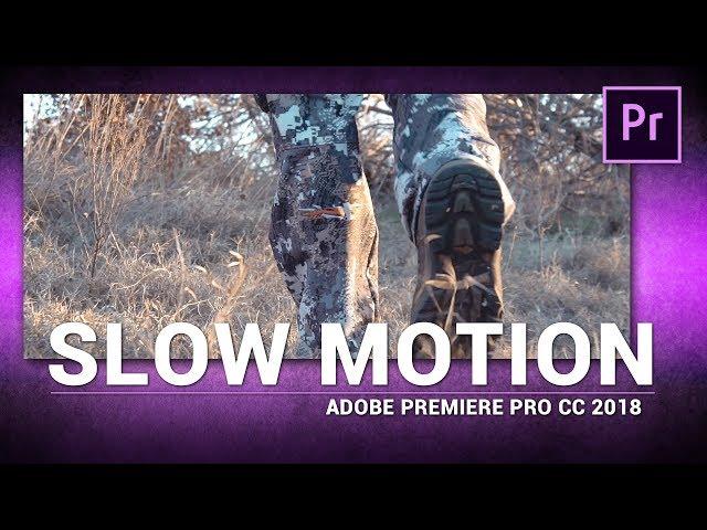 Adobe Premiere Pro / Slow Motion (Tutorial)