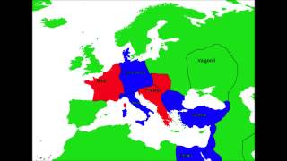 Alternate History of Europe Part 1:First Wars