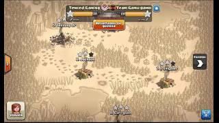 CLASH OF CLANS WAR #2   RAFA MEGA AND TEECUUP