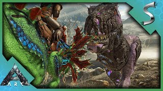 FIGHTING CORRUPTED DINOS IN THE WASTELANDS! - Ark: Extinction [DLC Gameplay E8]