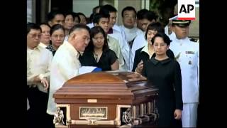 WRAP Funeral of former Archbishop Sin of Manila, interiors