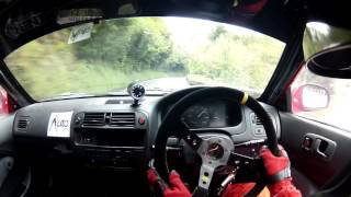 Creg Willey's - Honda Civic EK4 - Manx Classic Hill Climb - 2017