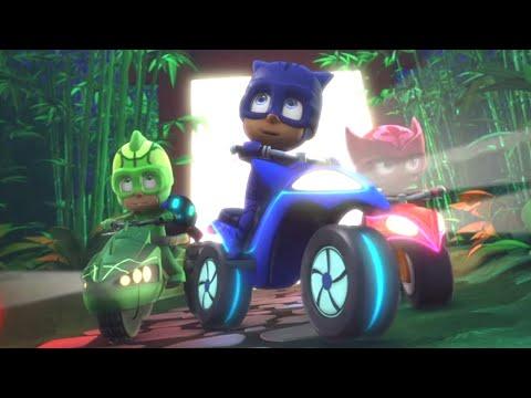 PJ Masks Full Episodes 🏁COOLEST CARS Cat Car, Owl Glider + More! ⭐️Season 2 ⭐️HD 4K | PJ Masks