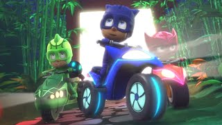 PJ Masks Full Episodes 🏁COOLEST CARS Cat Car, Owl Glider + More! ⭐️Season 2 ⭐️HD 4K | PJ Masks