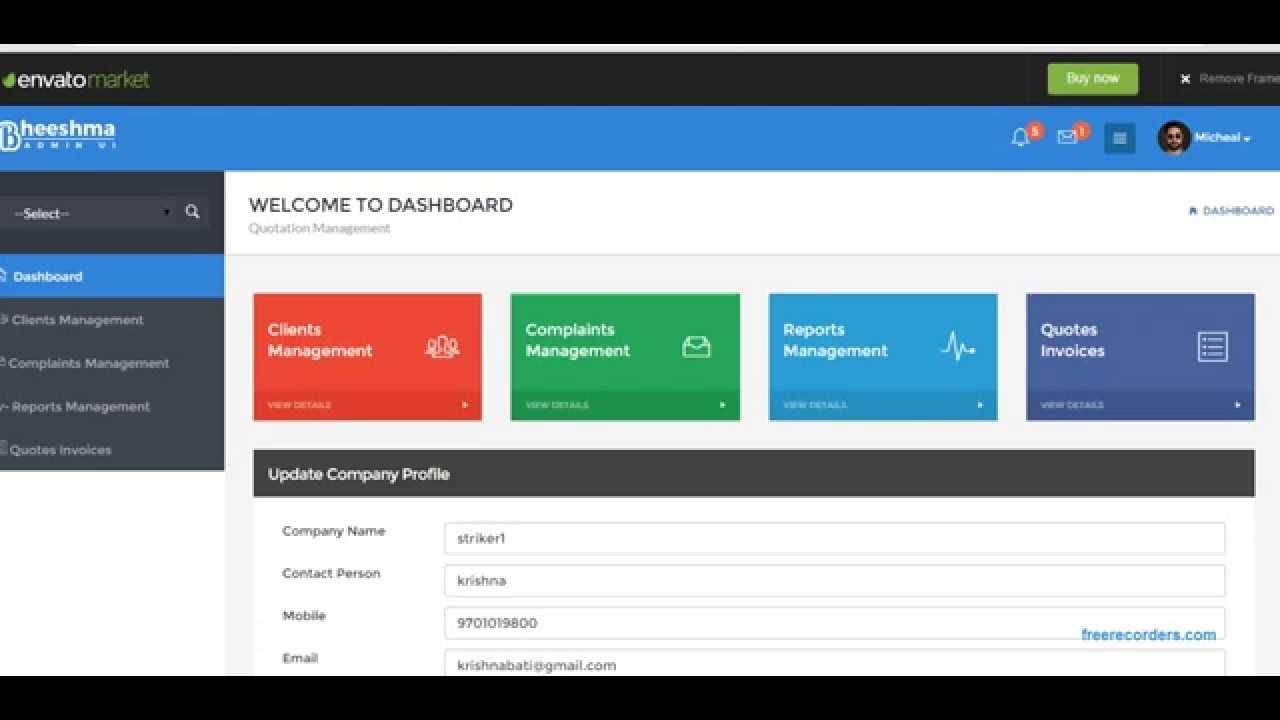 Tally based easy enquiry quotation invoice management using angularjs jqgrid