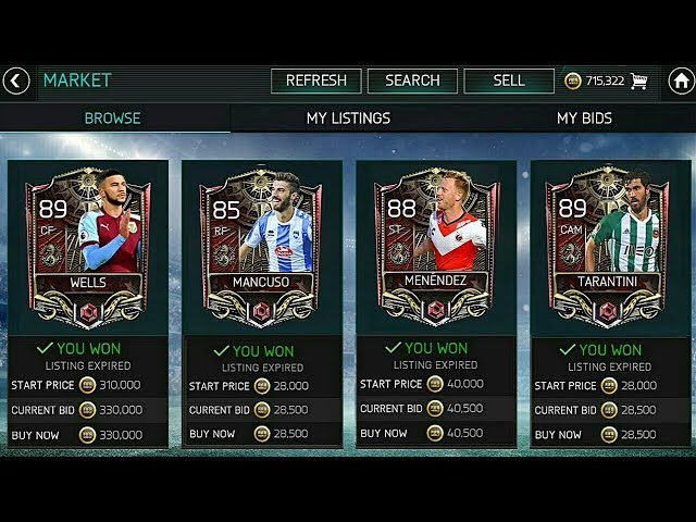 FIFA MOBILE 18 (S2) BEST SNIPING FILTERS EVER!!!  MILLIONS OF PROFIT FROM TREASURE HUNT EVENT!!