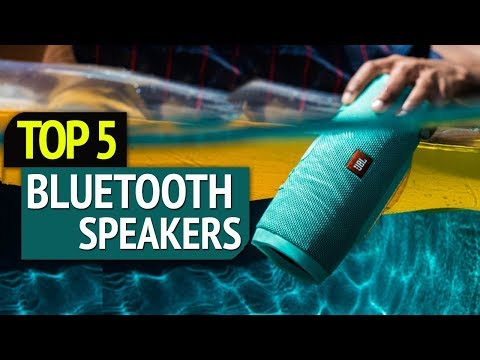 TOP 5: Best Bluetooth Speakers 2018