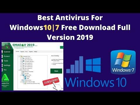 Best Antivirus For Windows 7 Free Download Full Version 2019
