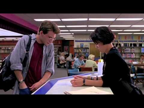 Pump Up the Volume (1990) - Mark and Nora in the Library - YouTube