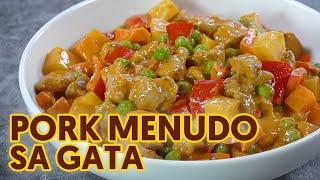 Pork Menudo sa Gata