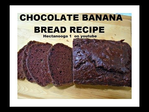 Chocolate banana bread recipe vegan youtube chocolate banana bread recipe vegan forumfinder Choice Image