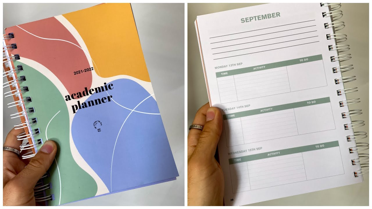 how to set up the PERFECT academic planner before term starts