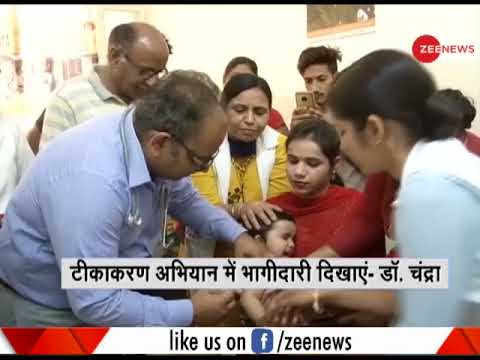 Deshhit: Show participation in rubella, measles vaccination drive- Rajya Sabha MP Subhash Chandra