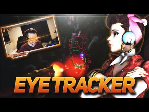 Learn How To Play DVA - Eye Tracking In Overwatch | Emongg