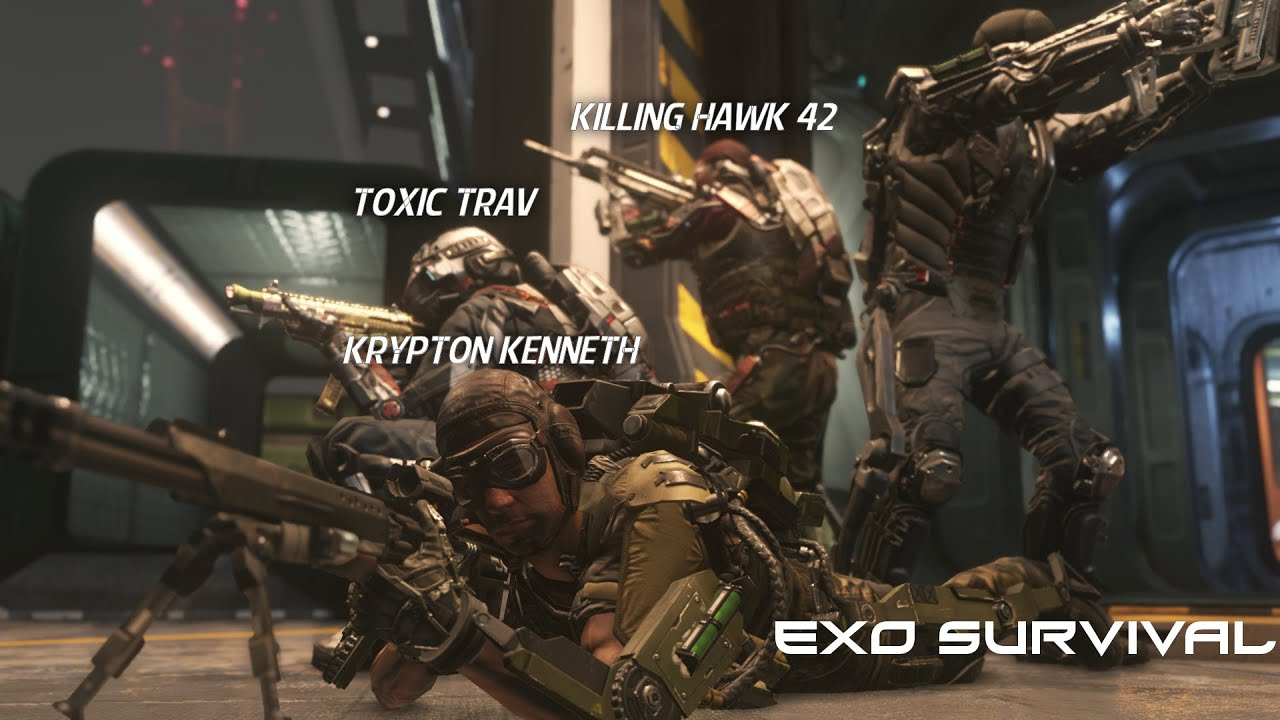 call of duty advanced warfare exo survival gameplay w