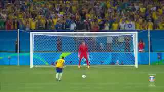 BRASIL 1(5) x (4)1 ALEMANHA - FINAL 20/08/2016