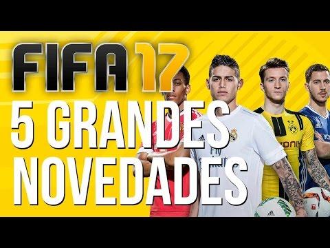 FIFA 17: 5 GRANDES NOVEDADES – Ya lo hemos jugado!