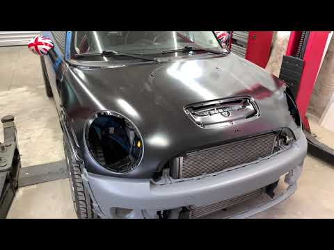 Восстановление кузова MINI COOPER S R56