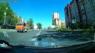 Преследование мотоциклиста-нарушителя в Пскове